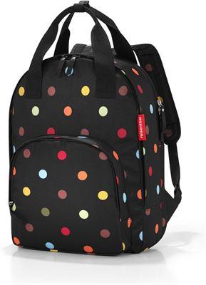 f2bba76fd80 reisenthel Easyfitbag Rugzak / shopper - 15L - Dots Zwart;Multi Kleur