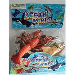 Massamarkt zeedieren of reptielen de luxe in zak