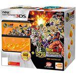 Nintendo New 3DS + Dragon Ball Z: Extreme Butoden Pack zwart