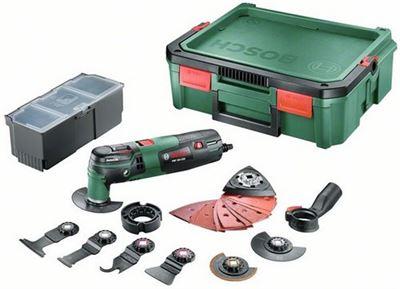 Bekend Bosch PMF 250 CES Multitool set - Oscillerend - 250 Watt NT56