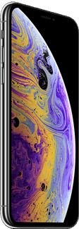 Apple iPhone XS 64 GB / zilver / (dualsim)