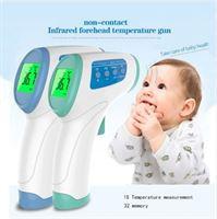 Webby Digital Multifunctionele Thermometer geschikt voor baby s/kinderen/volwassenen en huisdieren / contactloos / simpel in gebruik / infrarood / Handig en snel