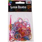 Eddy Toys Loom Bands Armband Maken Paars/blauw/oranje 213-delig