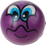 Toi Toys Toi-toys Bal Funy Face 8 Cm Paars