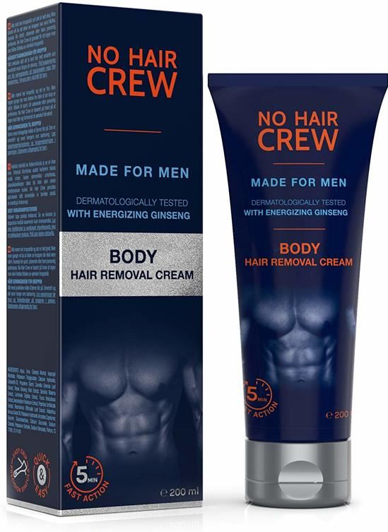 No Hair Crew - Ontharingscreme mannen - Lichaam - men
