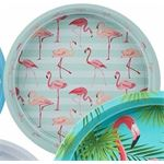 Dienblad flamingo mint 33 cm