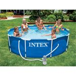 Intex Metal Frame Set 366 x 76 cm met Filterpomp