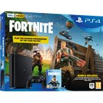 Sony PS 4 Slim 500 GB Zwart Fortnite Voucher