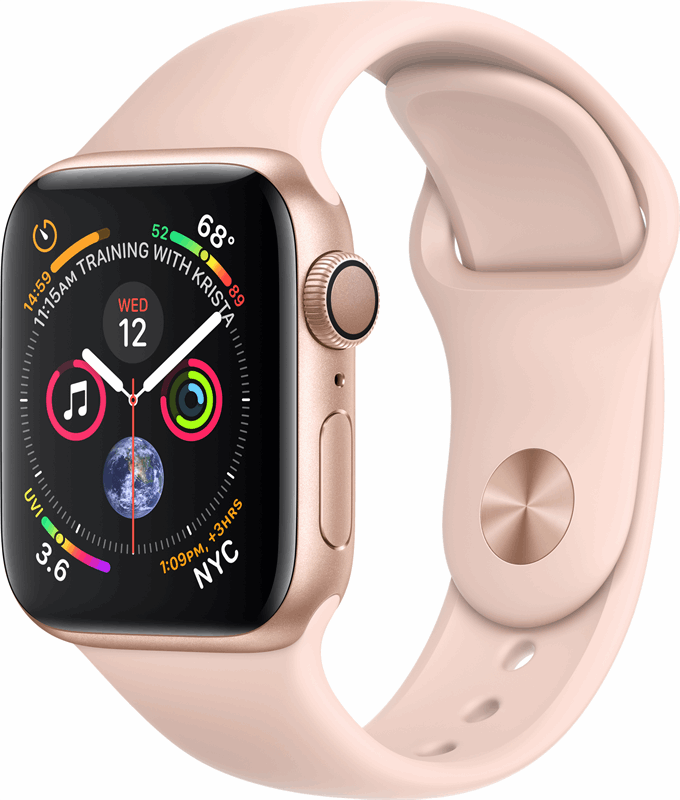 Apple 4 Watch Series 4 roze, goud / S|L