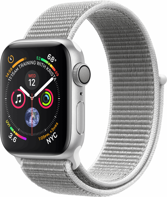 Apple 4 Watch Series 4 grijs, zilver / S|M