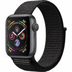 Apple 4 Watch Series 4 zwart, grijs / S|M