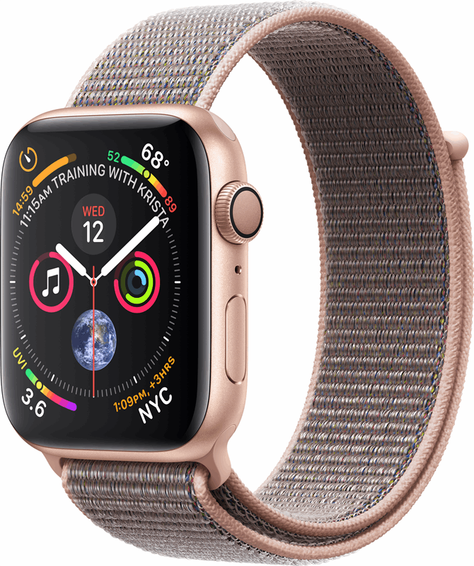 Apple 4 Watch Series 4 grijs, roze, goud / L|XL