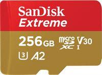 Sandisk 256GB Extreme microSDXC