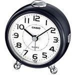 Casio wekker / TQ149-1DF met light en snooze functie -zwart