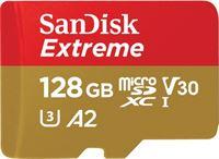 Sandisk 128GB Extreme microSDXC