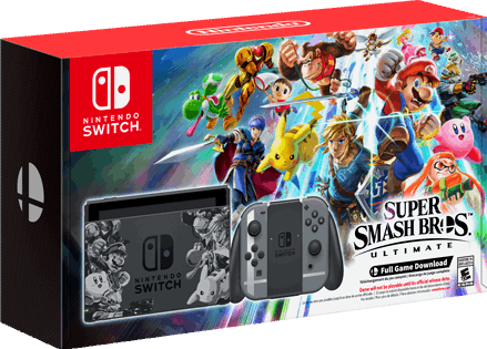 Nintendo Switch Super Smash Bros. Ultimate Set zwart
