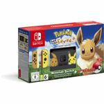 Nintendo Switch - Pokémon: Let's Go, Eevee! zwart, geel