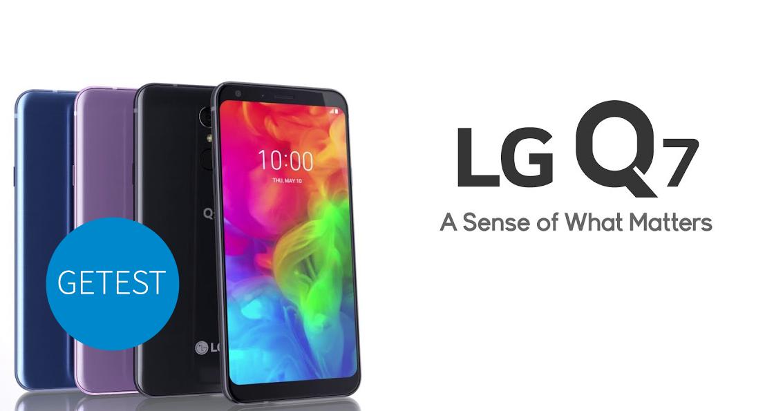 LG q7 header