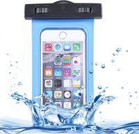 TrendParts Universele Waterdichte beschermhoes voor mobiele telefoon Zwart / Black waterproof iPhone Samsung