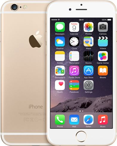 Apple iPhone 6 16 GB / goud