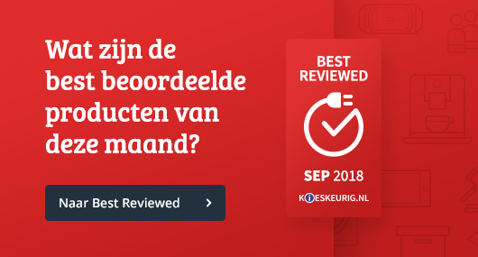 Best Reviewed producten 2018