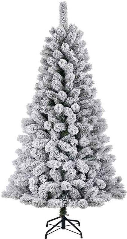 blackbox medford kerstboom groen frosted 155 cm