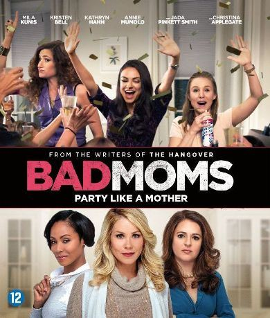 - Blu-Ray Bad Moms Bil blu-ray