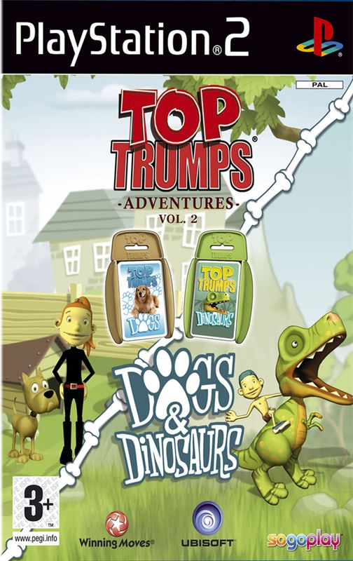 Ubisoft Top Trumps: Dogs & Dinosaurs (PS2) PlayStation 2