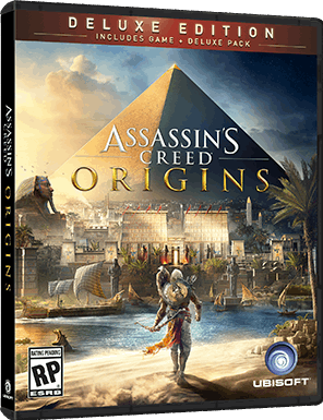 Ubisoft Assassin's Creed Origins - Deluxe Edition, PS4 PlayStation 4