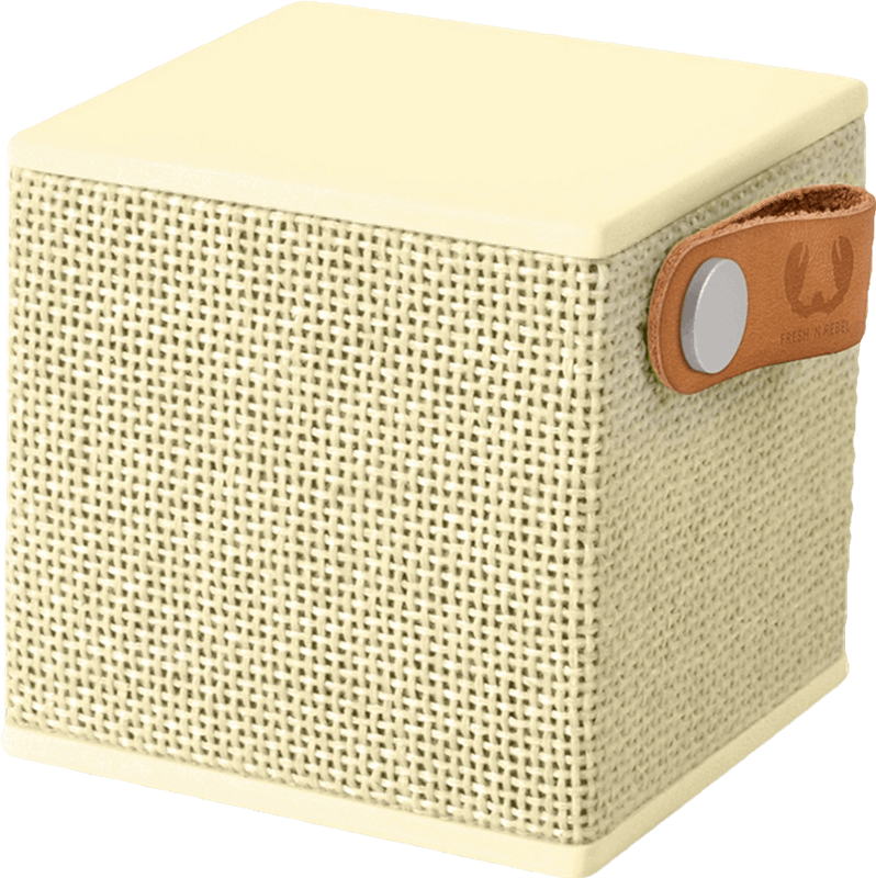 Fresh 'n Rebel Rockbox Cube Fabriq Edition geel