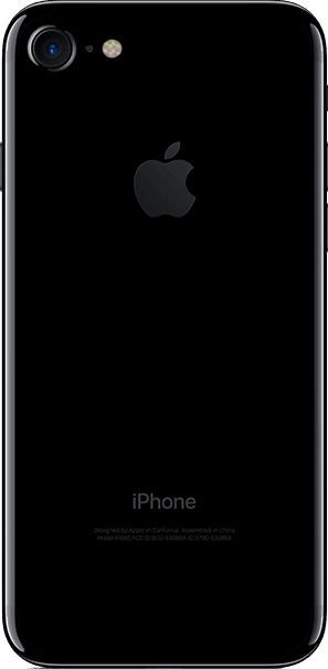 Apple iPhone 7 32 GB / jet black