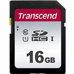 Transcend 16GB, UHS-I, SD