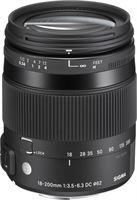 Sigma 18-200mm F3.5-6.3 DC Macro OS HSM   C