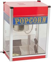 Caterchef Popcorn Machine | RVS | 1.5kW | met Verlichting | Vet Opvangbak | 520x380x H 690mm