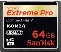 Sandisk 64GB Extreme Pro CF 160MB/s
