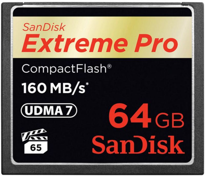 Sandisk 64GB Extreme Pro CF 160MB/s