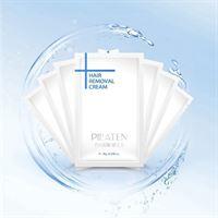 Pilaten Hair Removal Cream - ontharingscreme - 10 stuks + gratis postdrogist blackhead masker