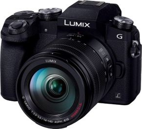 Panasonic Lumix DMC-G7H + G VARIO 14-140mm zwart