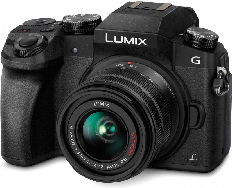 Panasonic Lumix DMC-G7 + G VARIO 14-42mm zwart