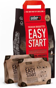 Weber Easy Start Premium Briquettes