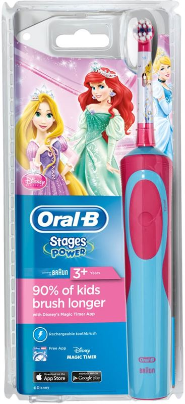 Oral-B Stages Power Kids Disney Princesses