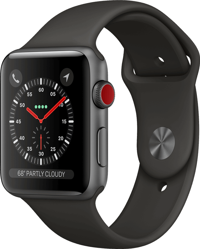 Apple 3 Watch Series 3 grijs / M|L