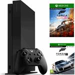 Microsoft Xbox One X 1TB + Forza Horizon 4 + Forza Motorsport 7 zwart