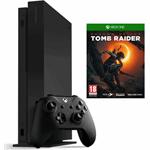 Microsoft Xbox One X 1TB + Shadow of the Tomb Raider zwart