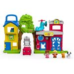 Fisher-Price Little People Dierenredders Speelset - Speelfigurenset