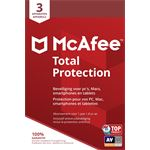 mcafee Total Protection - Multi-Device - 3 Apparaten - 1 Jaar - Nederlands - Windows / Mac Download