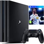 Sony PlayStation 4 Pro 1TB + FIFA 19 zwart