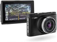 Caliber DVR210A Dashcam met 3.0MP camera 3 kleuren scherm oplaadbare accu G sensor en GPS
