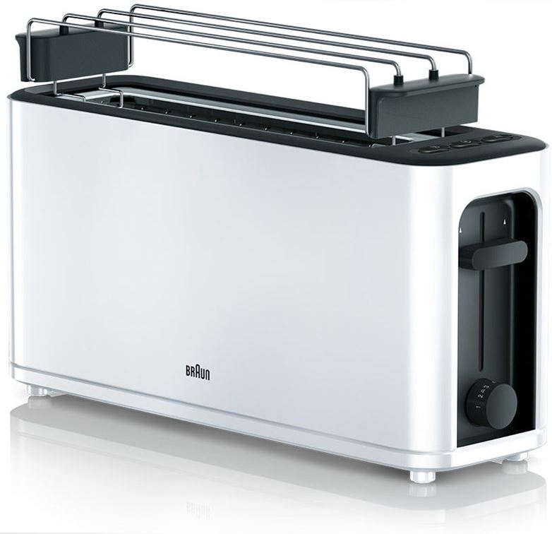 Braun PurEase Toaster HT 3110 WH
