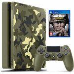 Sony PlayStation 4 Slim 1TB + Call of Duty WWII multi